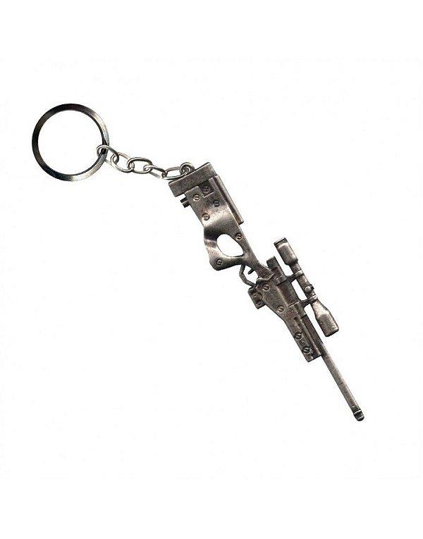 Chaveiro Sniper - Cromado