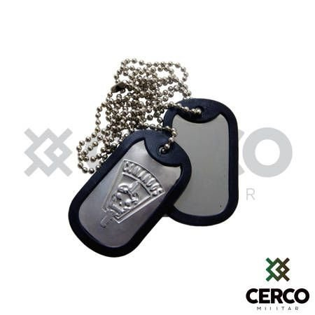 Plaqueta Dog Tag Comandos