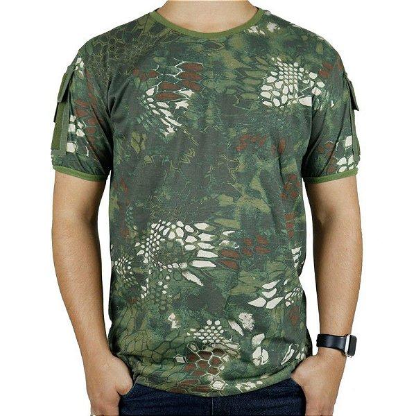 Camiseta Masculina Ranger Bélica Kryptek Mandrak