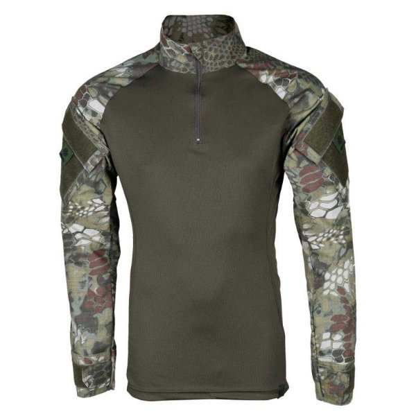 Combat Shirt Masculina Bélica Kryptek Mandrak