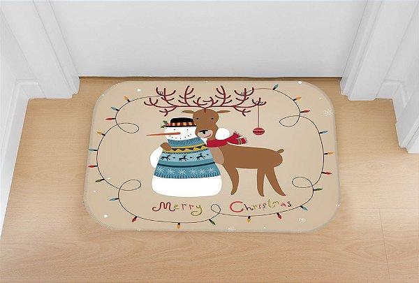 Tapete decorativo Natal Amigo