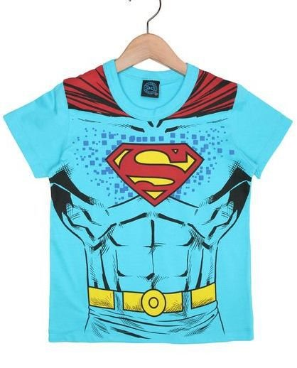 Camiseta Manga Curta Superman