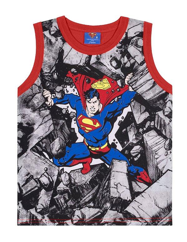 Camiseta Regata SuperMan