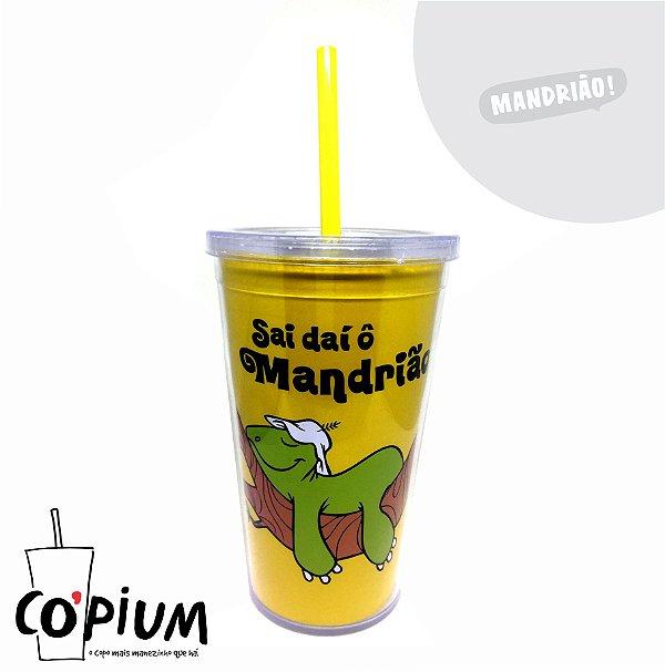 Copo Canudo Mandrião