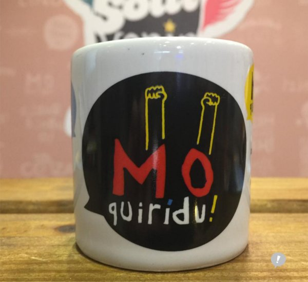 Mini Caneca Mô Quirídu! 100 ml