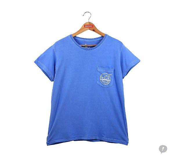 Camiseta Florianópolis com Bolso