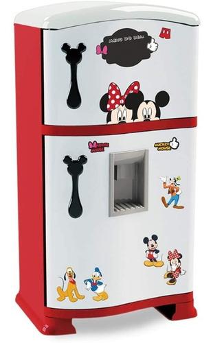 Geladeira Freezer Refrigerador Infantil Mickey Mouse 51 Cm