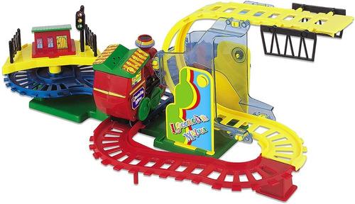 Locomotiva Maluca Muita Diversão - Trem Trenzinho Maluco