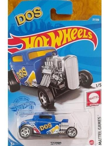 Carrinho Hot Wheels - 32 Ford Azul - Dos Gtb50 Edição Mattel