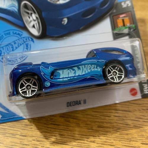 Carrinho Hot Wheels Deora Ii - T-hunt - Edição 2021 Azul