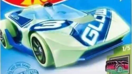 Carrinho Hot Wheels Hw Warp Speeder Brilha No Escuro Ed 2021