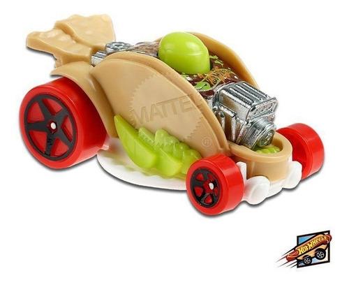Carrinho Hot Wheels Car-de-asada Edição Fast Foodie Ed 2021