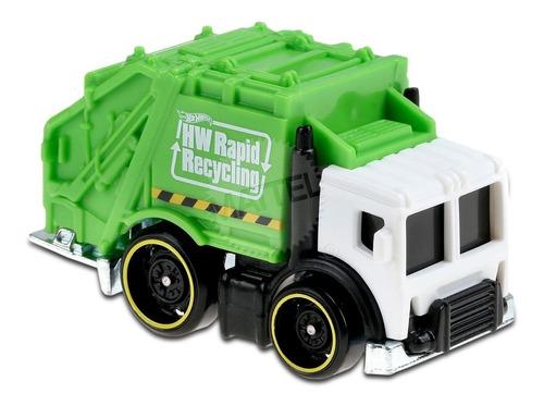 Carrinho Hot Wheels Total Disposal -caminhão De Lixo Ed 2020