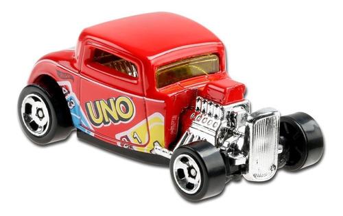 Carrinho Hot Wheels '32 Ford Uno Mattel Games - Vermelho