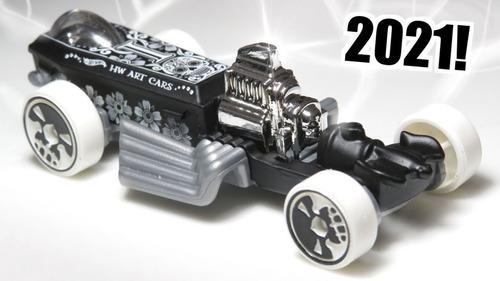 Carrinho Hot Wheels Rigor Motor Edição 2021 Com Flores