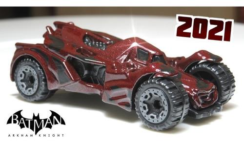 Carrinho Hot Wheels Batman Arkham Knight Batmobile Ed 2021