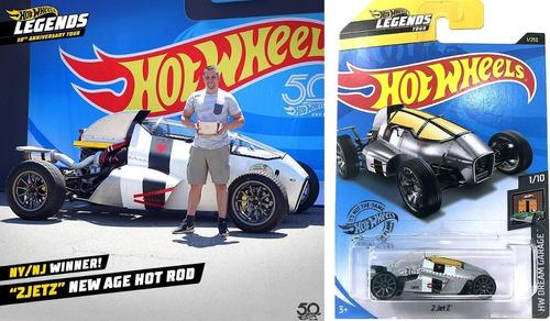 Carrinho Hot Wheels 2 Jet Z - Legends Tour Cinza Edição 2020