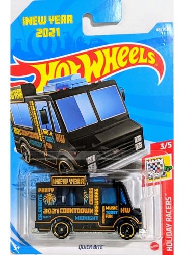 Carrinho Hot Wheels Quick Bite - Happy New Year Edição 2021