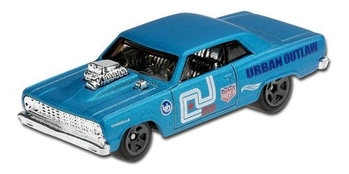 Carrinho Hot Wheels 64 Chevy Chevelle Ss Azul Edição 2020