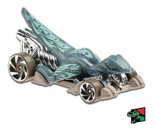 Carrinho Hot Wheels Veloci-racer 1/10 Velociraptor Ed 2020 - Verde