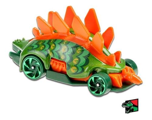 Carrinho Hot Wheels Dino Motosaurus Edição Montros Ed 2020 Verde
