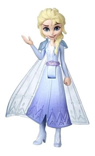 Mini Boneca Básica 10 Cm Disney Frozen 2 Rainha Elsa Magica