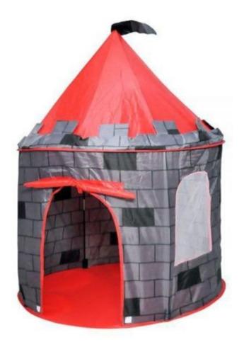 Barraca Tenda Castelo Do Príncipe Dobrável Com Led + Espada