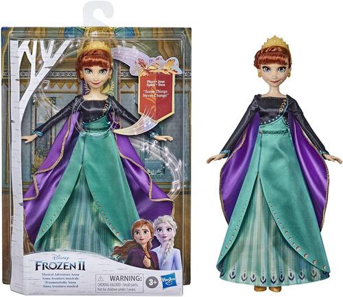 Boneca Anna Disney Frozen 2 - 30cm - Musical Vestido De Luxo