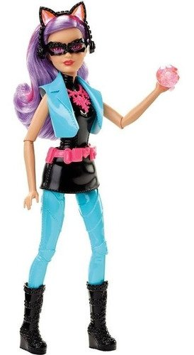 Boneca Barbie Agentes Secretas Espiã Vilã Gatuna Edição Luxo