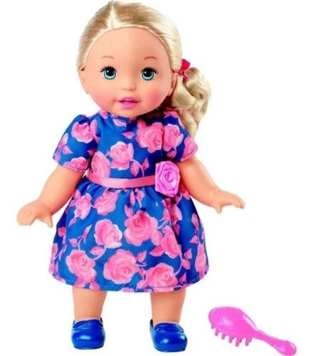 Boneca Bebê - Little Mommy Doce Bebê Vestido Floral