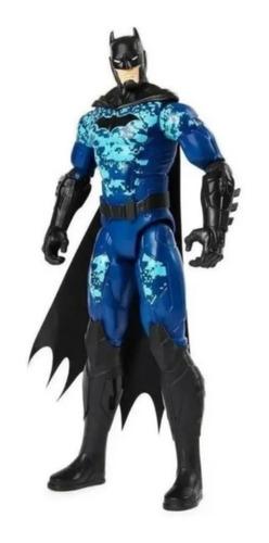 Boneco Batman Articulado 30 Cm Camuflagem Azul Edição 2021