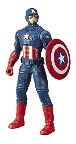 Boneco Capitao America 25 Cm Action Figure Avengers Olympus