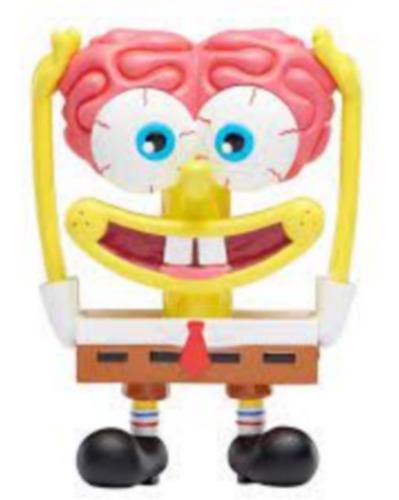 Boneco Figura Bob Esponja Retrô Vintage Bob Esponja Com Cor