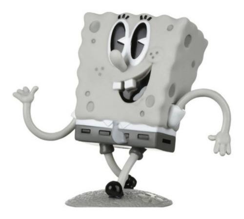 Boneco Figura Bob Esponja Retrô Vintage Bob Esponja Sem Cor