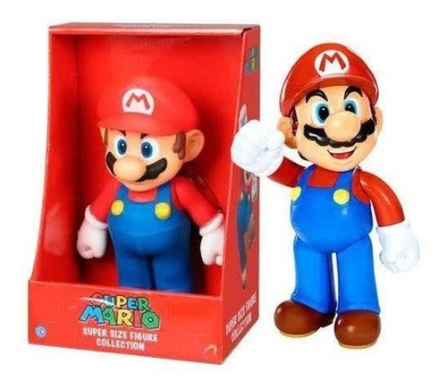 Boneco Figura Super Mario Boneco Mario Big Size 20cm