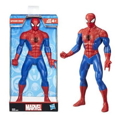 Boneco Homem Aranha 25 Cm Action Figure Avengers Olympus