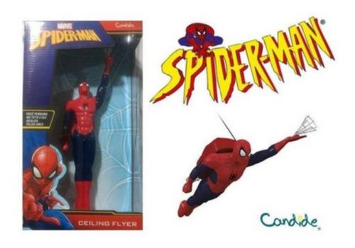 Boneco Spider-man Homem Aranha Flyer Pendurado No Teto