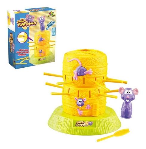Brinquedo Jogo D Ratinho Não Deixe Cair Família Pula Ratinho