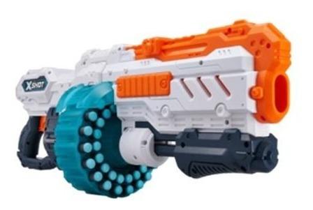 Brinquedo Lançador De Dardos X-shot Turbo Fire Alcançe 24m