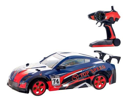 Carro De Controle Remoto 4x4 A Bateria Multi Direcional Drif - Vermelho