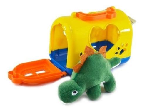 Coleção Dinossauro Amigos Do Coração Pelúcia Dino Baby