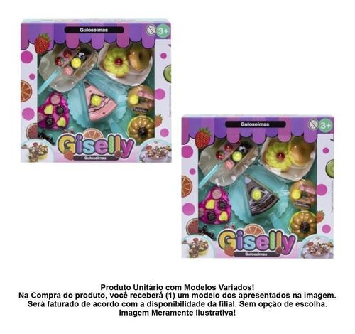 Conjunto De Comidinha Docinhos De Brinquedo - Bolo Doces