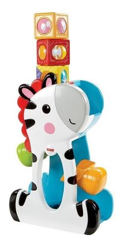 Fisher Price Zebra Divertida Com Blocos Pick A Block Mattel