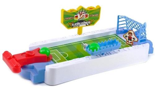 Jogo De Futebol Pequeno No Gol Colorido Pra Jogar Com Amigos