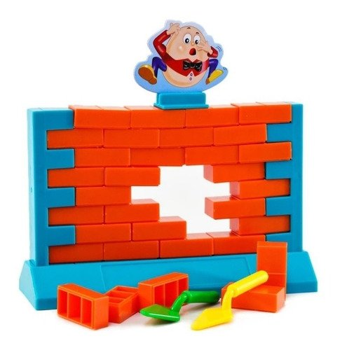 Jogo Quebra Muro - Não Deixe O Muro Cair -jogo De Raciocínio