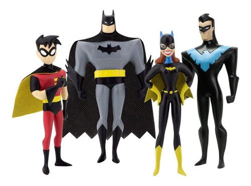 Kit 4 Bonecas Do Batman Edição Colecionador Robin - Batman +