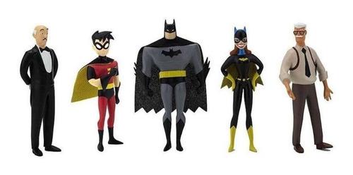 Kit 5 Bonecas Do Batman Edição Colecionador Vilãs Dc Comics
