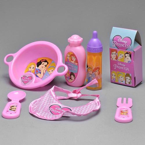 Kit Mamadeira Mágica Princesas Disney Com Varios Acessorios