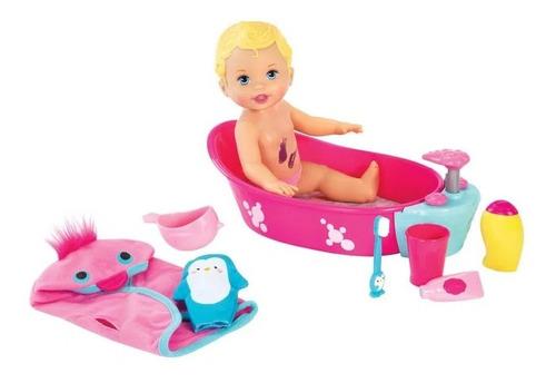 Little Mommy Brincadeira Na Banheira - Mattel Frete Grátis