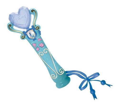 Microfone E Gravador - Princesas Disney - Cinderela - Azul